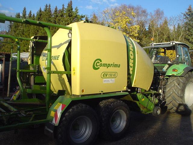 Krone Comprima 150 CV, Press- Wickel,BJ 2012, Vollausstattung
