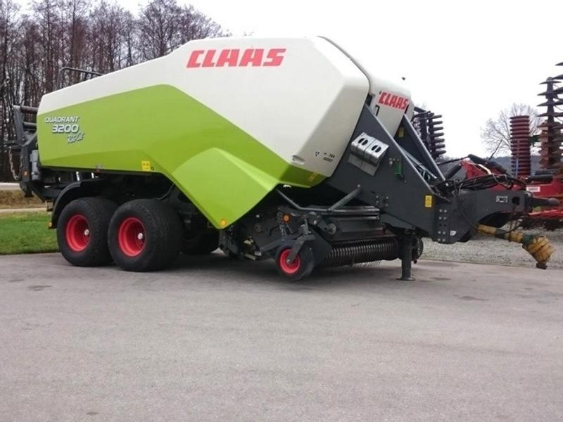 Claas Quadrant 3200 RC, Bj. 09, 51.000 Ballen