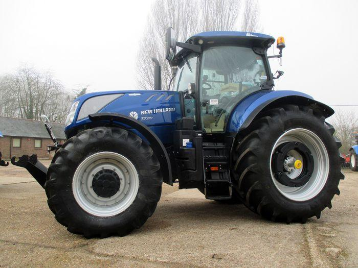 New Holland T7.270 - Blue Power Special Edition