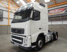 Volvo FH GLOBETROTTER XL 500 EURO 5, 6 X 2 TRACTOR UNIT - 2011 - BX11 BBO