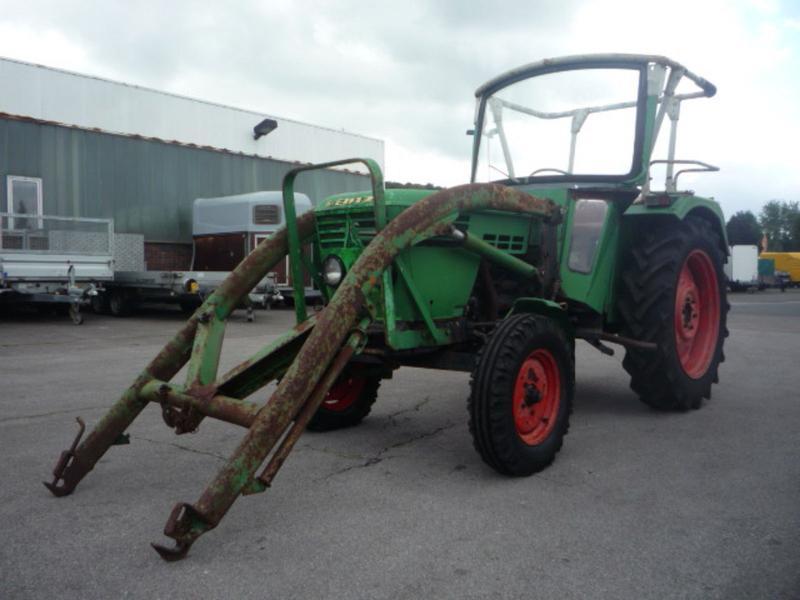Deutz fahr frontlader gebraucht traktorpool