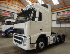 Volvo FH GLOBETROTTER XL 500 EURO 5, 6 X 2 TRACTOR - 2012 - GJ62 UMY