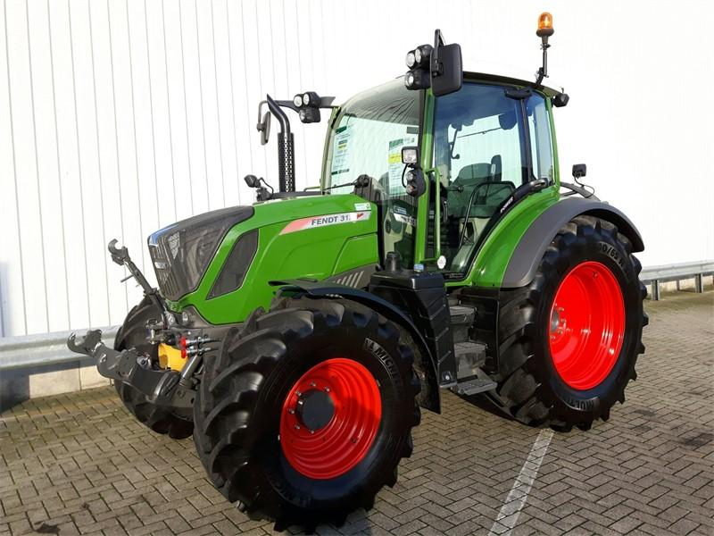 Fendt 312 S4 Power Nature Green fronthef+aftakas