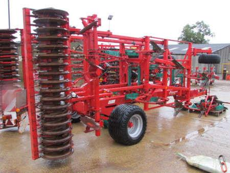 Kverneland CTC 4 metre Trailed Auto-Reset Cultivator, 2007