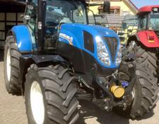 New Holland T7.185 PC Allrad Traktor mit FKH & FZW **TOP**