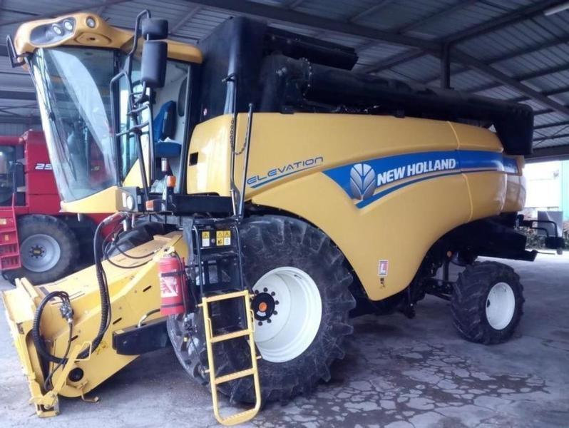 New Holland CX 5090 LATERALE ELEVATION