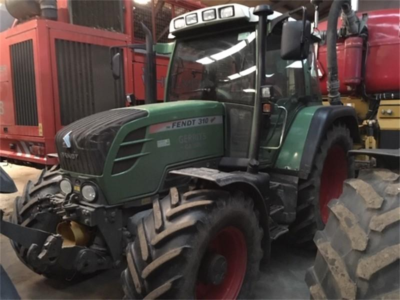 Fendt 310 Vario TMS fronthef + aftakas