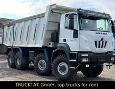Iveco Astra HHD9 86.54 8x6, 28 m³, Nutzlast 40 t.