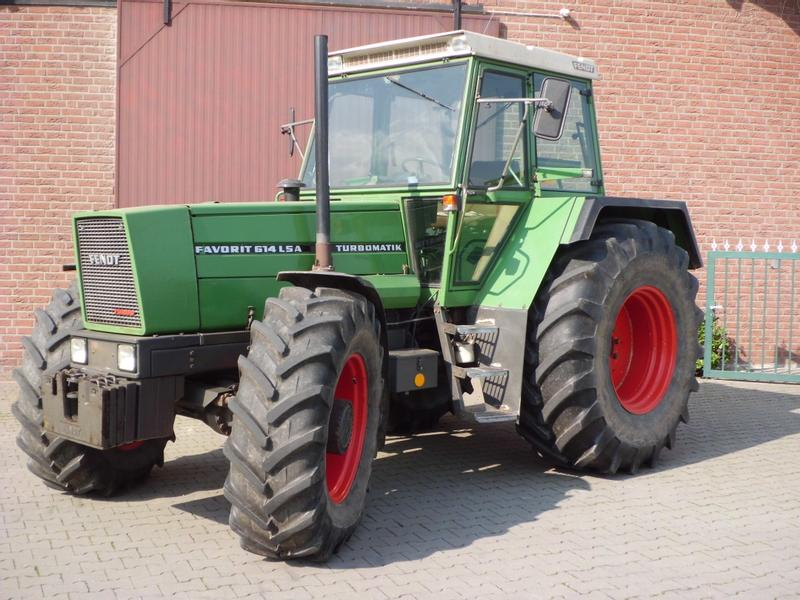 Fendt Favorit 614 LSA turbo