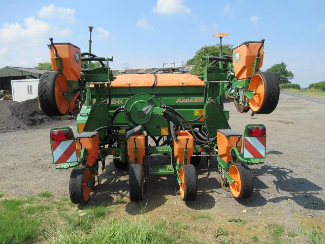 Amazone ED452 K6, 6 Row Maize & Fertiliser Drill