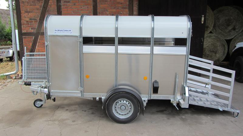 Ifor Williams P8G  2440x1210x1530mm