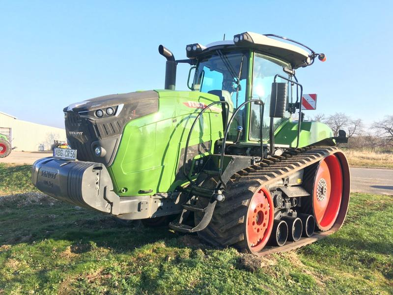 Fendt 943 MT Raupe