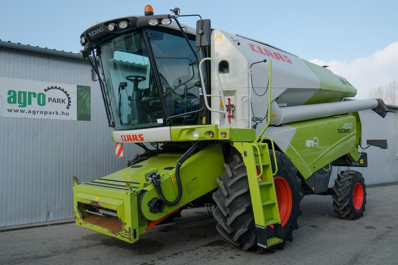 Claas Tucano 450 APS (1220/1771 BStunden)