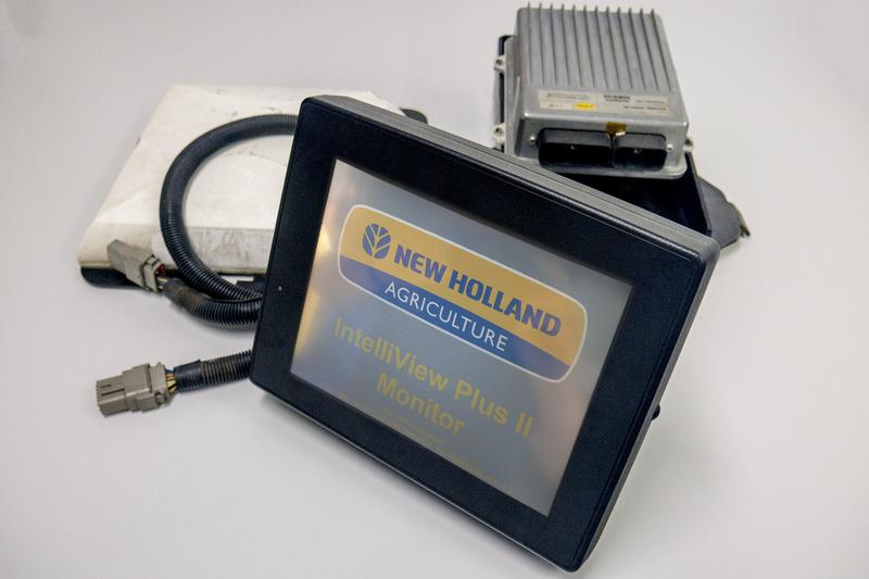 New Holland automatische Lenkung Set, Monitor + GPS Empfaenger + Control