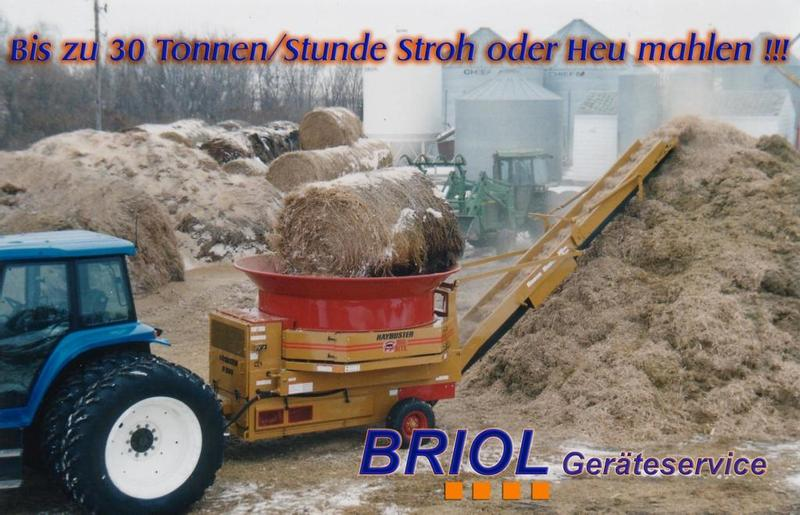 Haybuster Strohmühle / Haygrinders H 1000