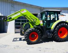 Claas Arion 650 CMATIC + Frontlader