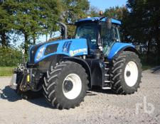 New Holland T8.410 Auto Command MFWD Tractor