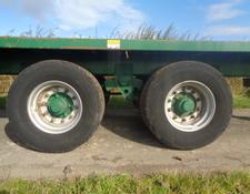 Bailey 14T Flat Trailer C/w Easy Sheet