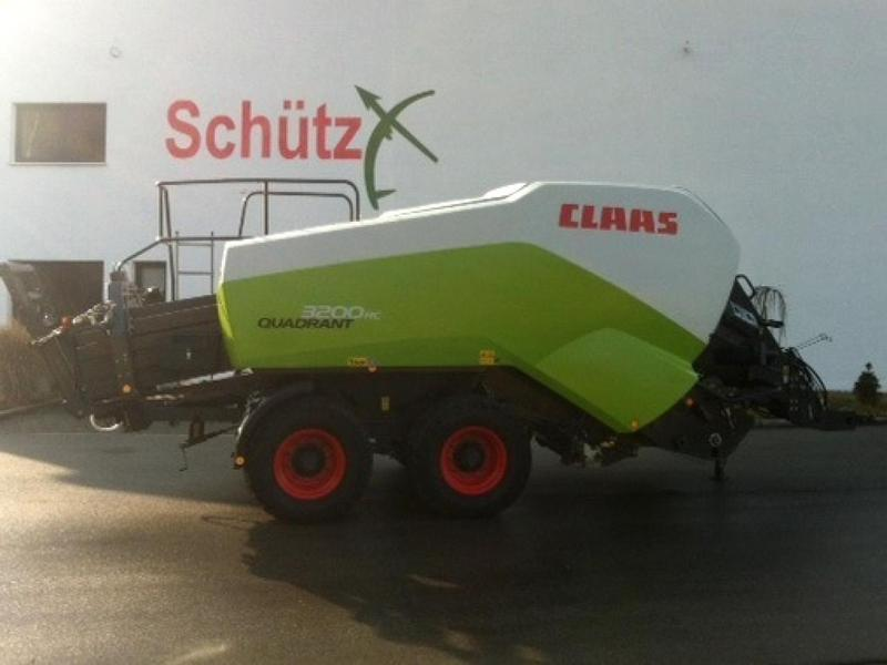 Claas Quadrant 3200 RC T, Bj. 12