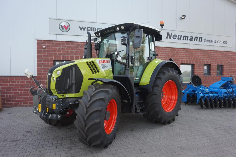 Claas ARION 550 CMATIC CEBIS TOUCH GARNATIE
