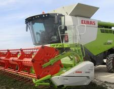 Claas Lexion 660 Mercedesmotor!