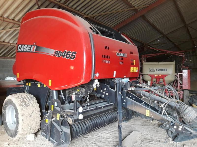 Case IH RB465 HACHEUR