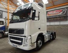 Volvo FH GLOBETROTTER XL 500 EURO 5, 6 X 2 TRACTOR - 2012 - GJ62 OWB