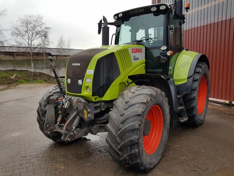 Claas Axion 810 Cmatic, neues Getriebe!