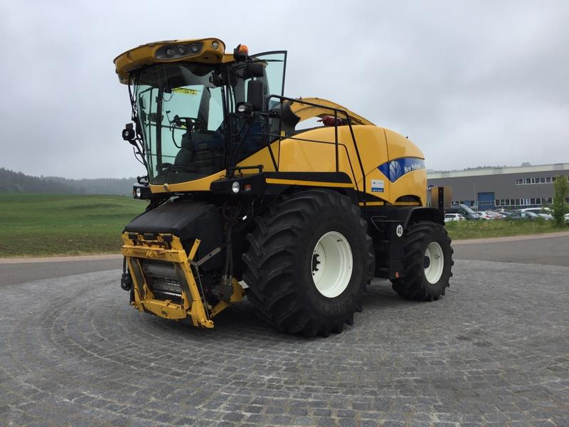New Holland FR 9080 Häcksler, Maisvorsatz, PickUp