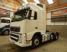 Volvo FH GLOBETROTTER XL 500 EURO 5, 6 X 2 TRACTOR - 2012 - GJ62 OWD