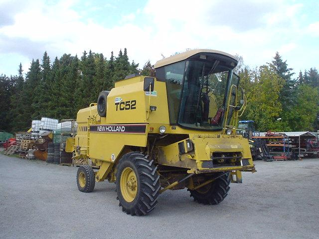 New Holland TC52, Bj. 94, 3194 Std., 3m SW, Häcksler