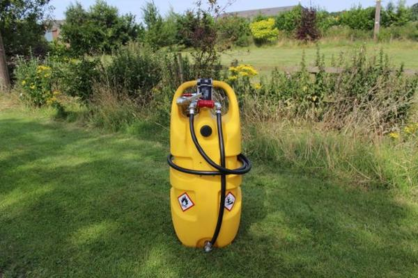 55 LITRE & 110 LITRE DIESEL MOBILE FUEL TANKS