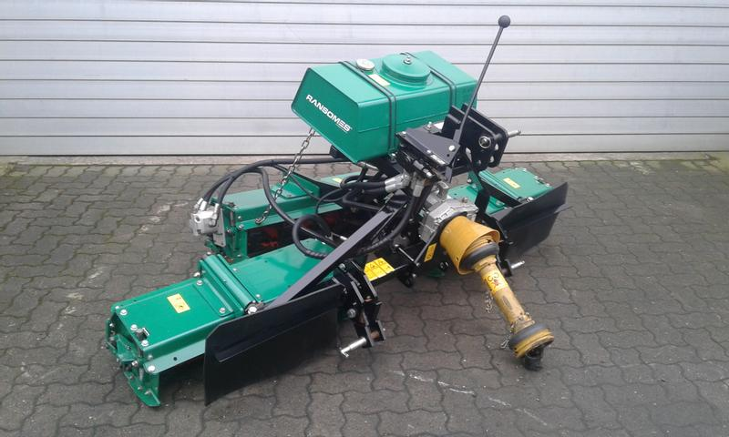 Ransomes Mounted 214