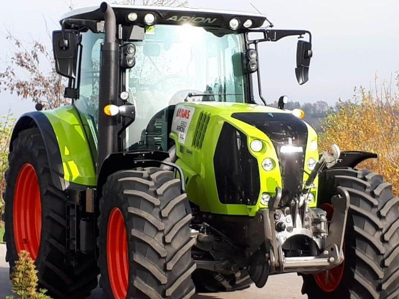 Claas Arion 650 CMATIC, FKH, 1.290 Bh, TOP Zustand