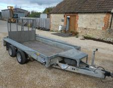 Ifor Williams gx10x5 plant trailer