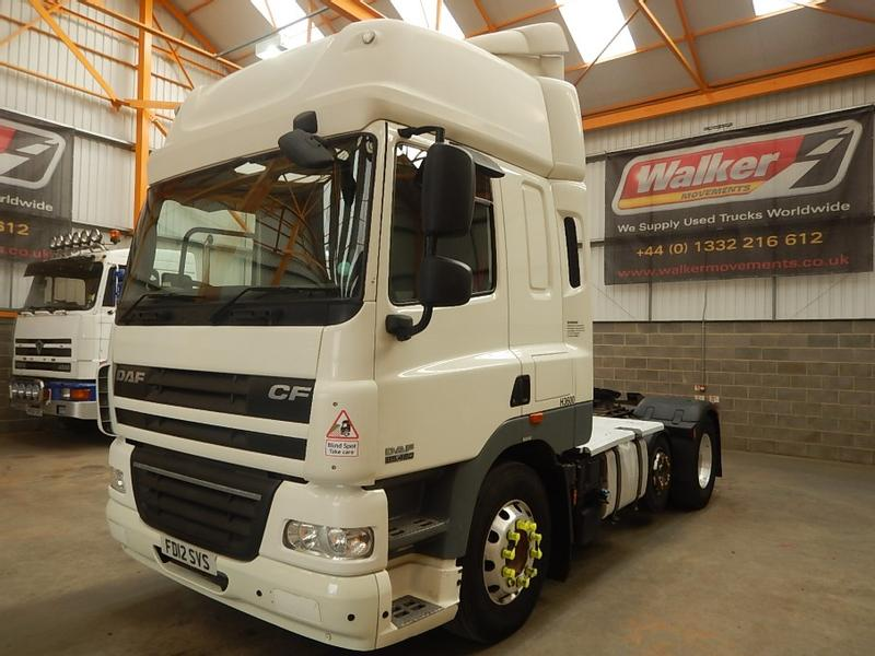 Daf CF85 SPACE CAB 6 X 2 FTP EURO 5 TRACTOR UNIT - 2012 - FD12 SVS