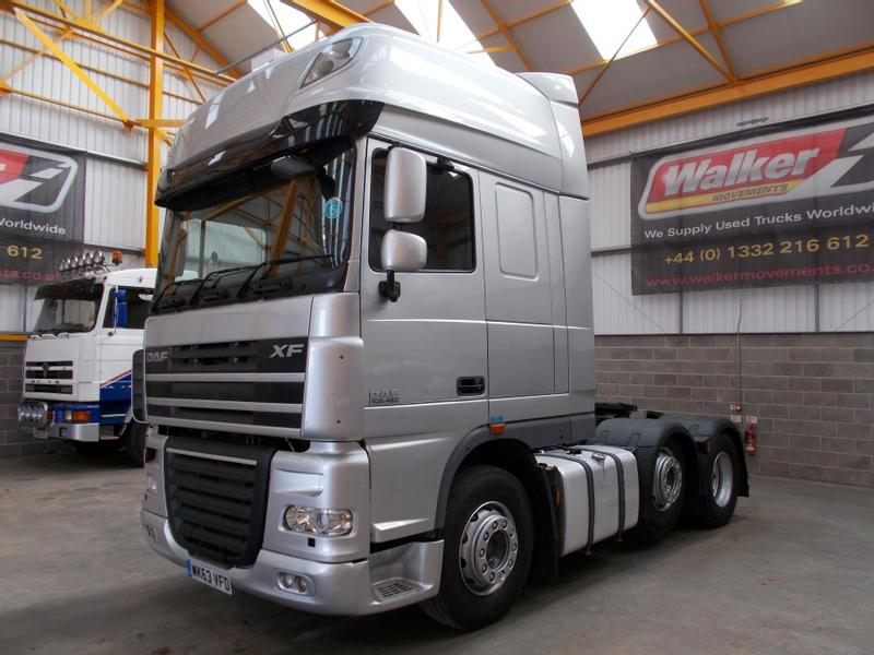Daf XF105 460 SUPERSPACE EURO 5, 6 X 2 TRACTOR UNIT - 2013 - WK63 VFD