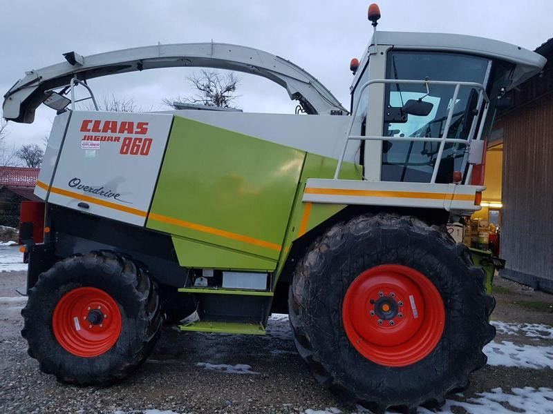 Claas 860 Overdrive