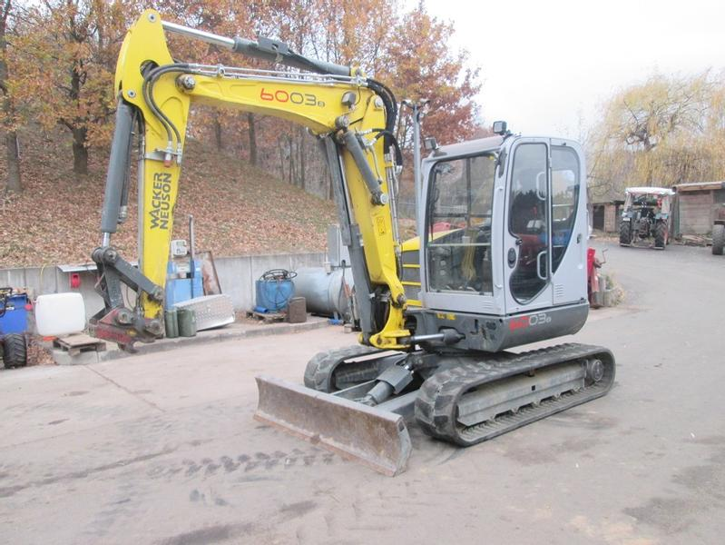 Neuson 6003 Verstellauslerger, Klima