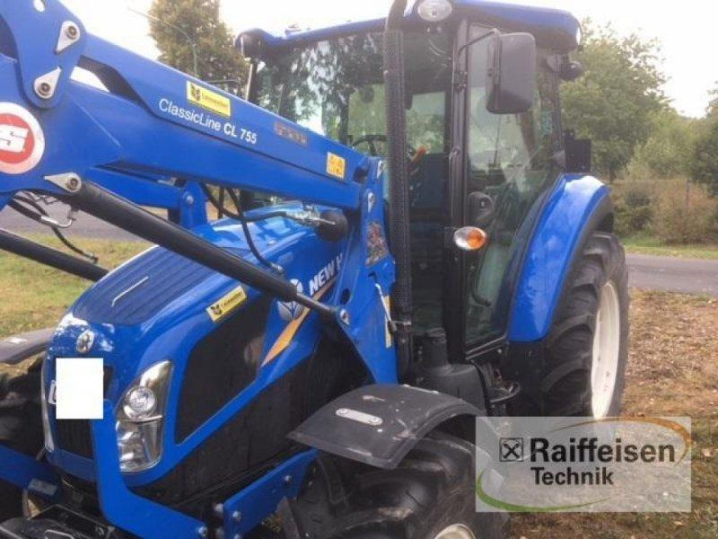 New Holland TD 5.65 mit Stoll Frontlader