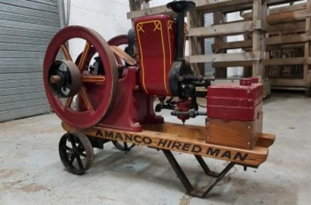 1917 AMANCO STATIONARY ENGINE