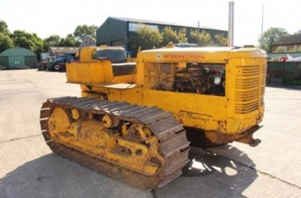 International  TD 14 STEEL TRACKED CRAWLER