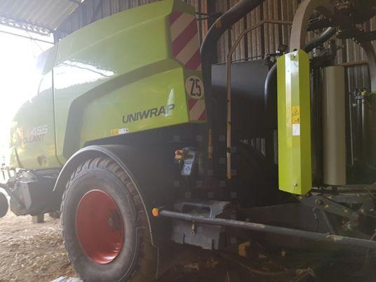 Claas Uniwrap 455 RC K80+air