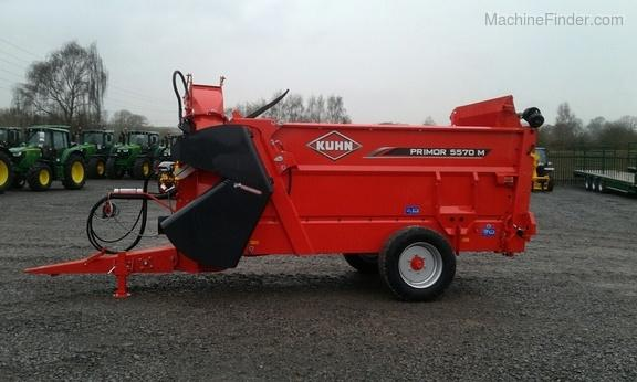 Kuhn *NEW* Primor 5570M Feeder & Straw Blower