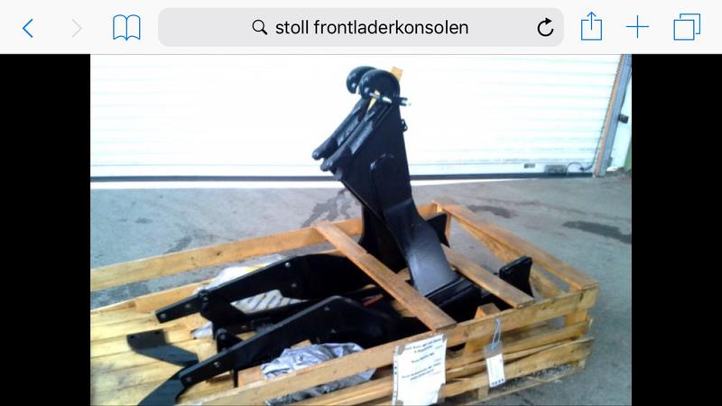 Stoll Frontladerkonsole für New Holland 4020F-4040F