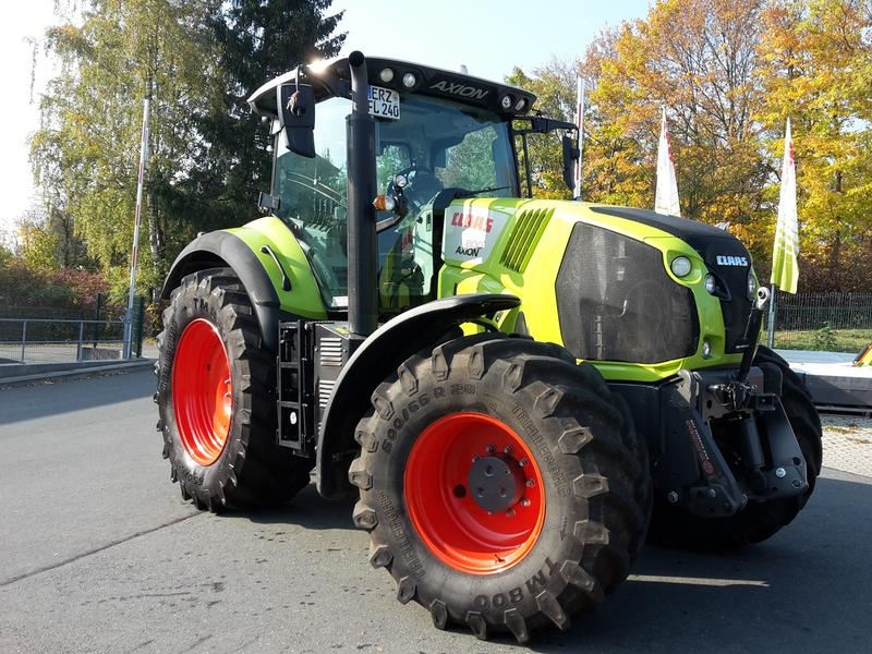 Claas AXION 800 CIS