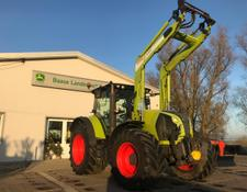 Claas Arion 640 + FL 120