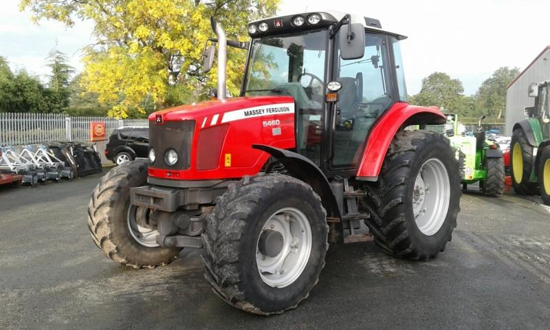 Massey Ferguson MF 5460 Tractor for sale