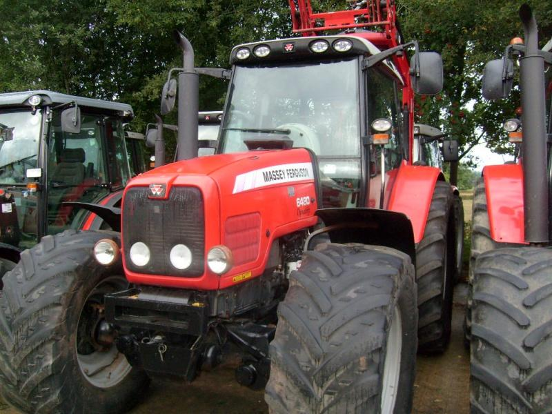 Massey Ferguson MF 6480 Tractor for sale