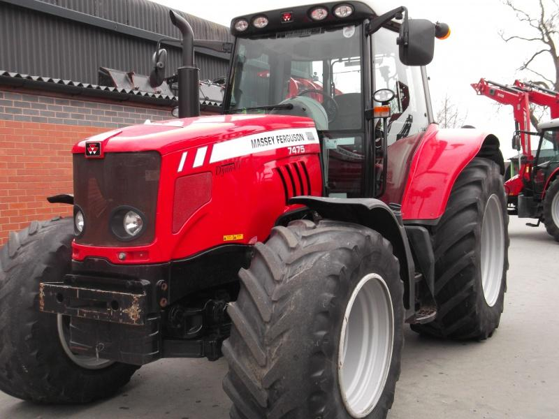 Massey Ferguson MF 7475 ST Tractor for sale